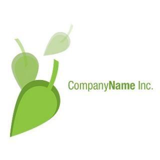 Falling leafs logo
