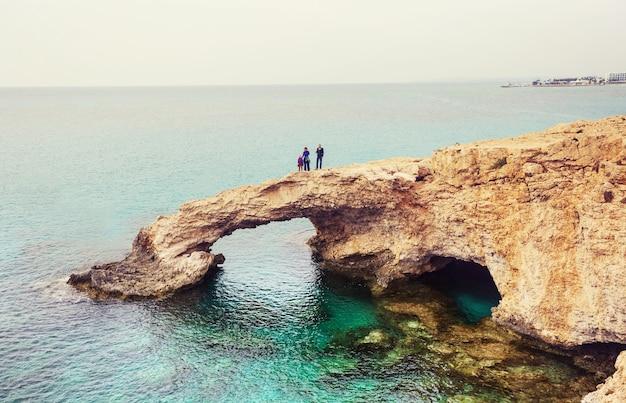 キプロス島での家族の休日