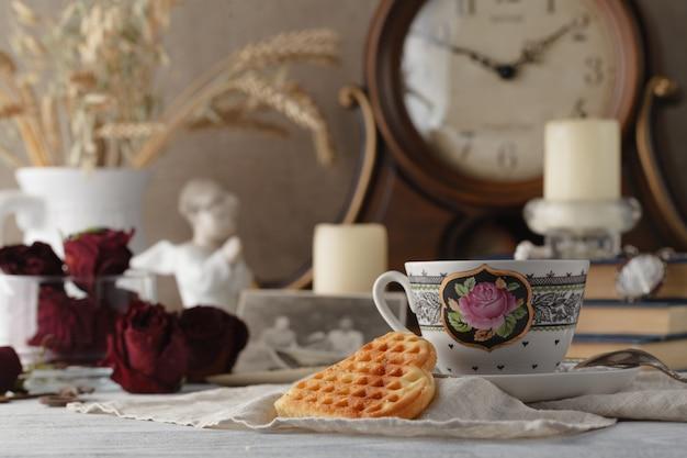 Семейные воспоминания вечернего чая