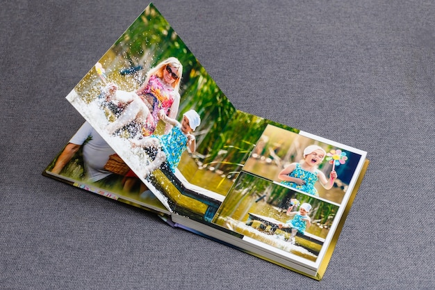 Family photo album, spring weekend