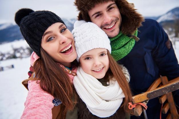 Семейная поездка в горы