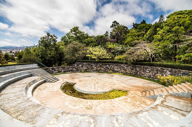 The famous botanical garden in funchal, madeira island portugal