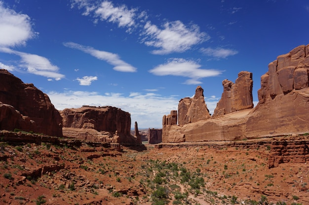 Famous courthouse towers in utah, united states