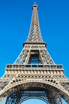 Famous eiffel tower - paris