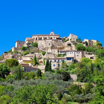 Famous gordes medieval village in southern france