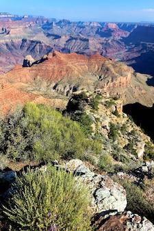 有名なグランドキャニオン、アリゾナ、米国