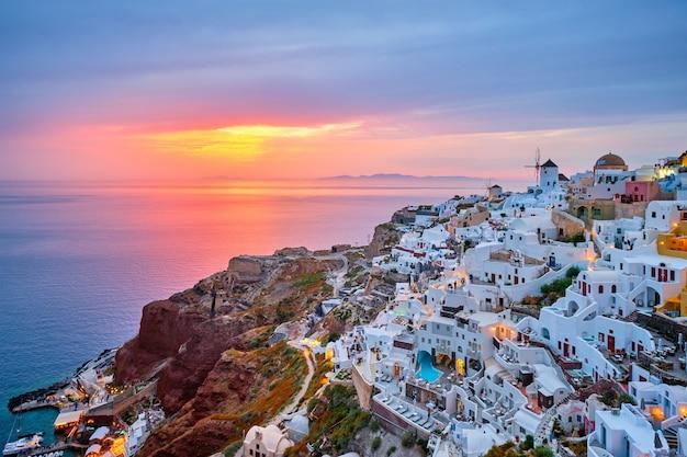 有名なギリシャの観光地イアギリシャ