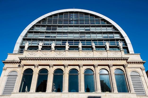 フランス、リヨンの有名なオペラハウス