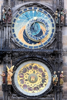Famoso orologio zodiacale a praga