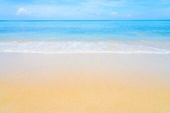 Fantastic beach with blue sea