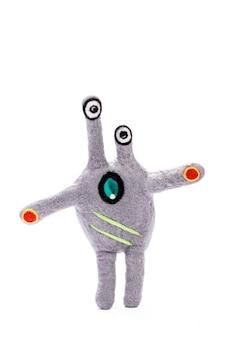 Мягкая игрушка сказочное существо из натуральной шерсти