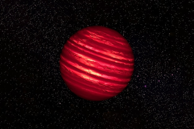 Fantastic hot planet. elements of this image were furnished by nasa. high quality photo