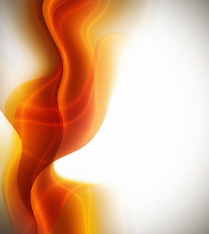 Fantastic orange design or art element for your projects
