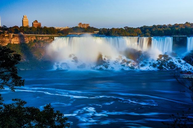Fantastic views of the niagara falls, ontario, canada