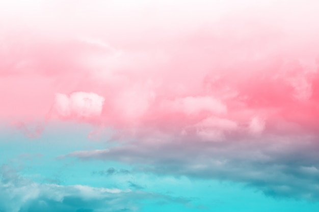 Fantasy and vintage dynamic cloud and sky with grunge texture