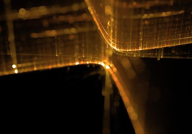 Динамический свет фантазии с лучами
