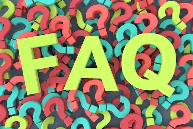 よくある質問(faq) 3dレンダリング