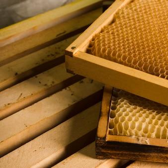 Farm honeycomb pile