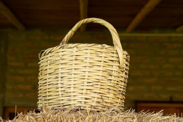 農家のバスケット