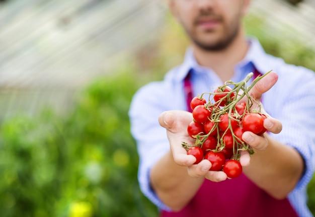 Farmer gardener
