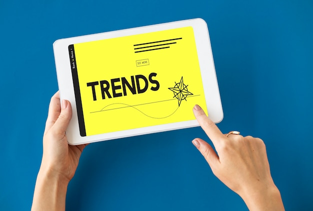 Fashion design arrow trends icon