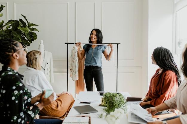 Модельеры на встрече