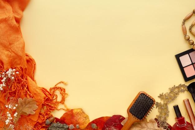 패션 여성 액세서리 세트 단풍, 선글라스, 향수 및 화장품