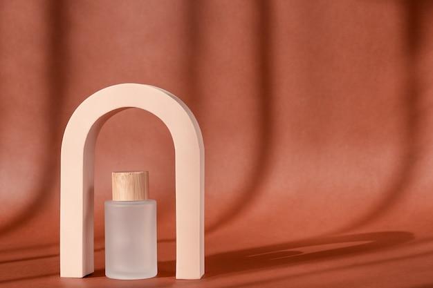 Fashion geometric arch for product presentation