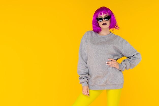 Портрет девушки моды