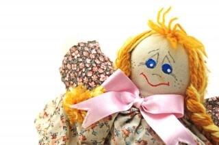 Fashion handmade doll, one