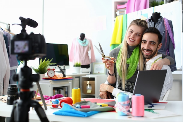 Fashion industry blog content clothes creation