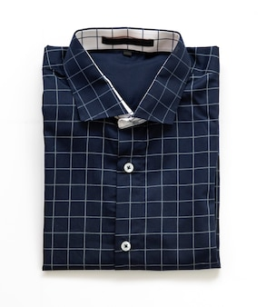 Fashion man blue shirt