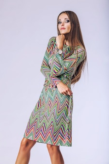 Fashion model beautiful woman studio photography. fashion, beauty, sexy, makeup, clothing
