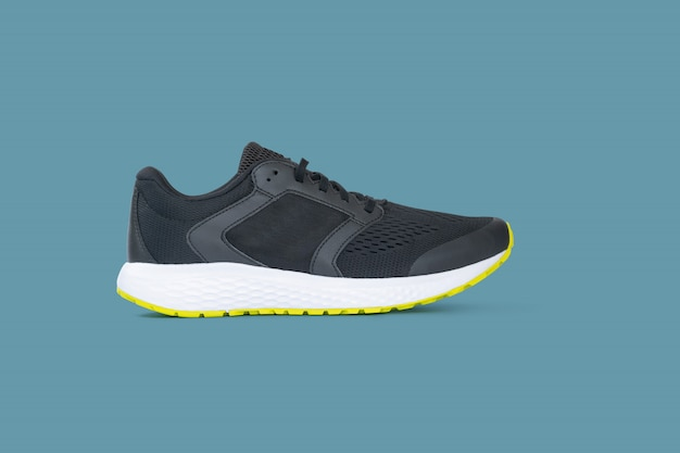 Fashion running sneaker shoes isolated