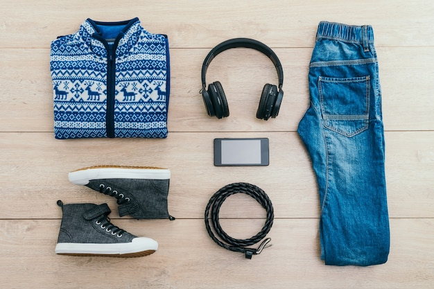 Fashion set for young boy