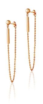 골드 패션 여성용 귀걸이. 여성용 보석 선물