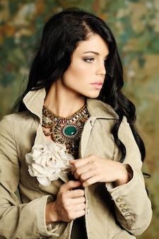 Fashion young pretty woman