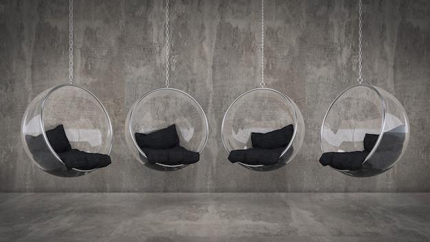 Модное подвесное кресло