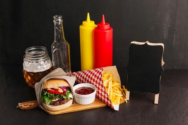 Decorazione di fast food