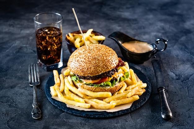 Fast food dinner
