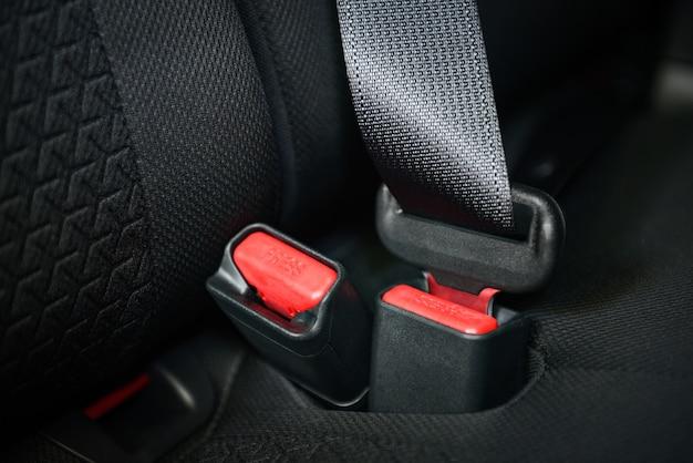Fastened car belt