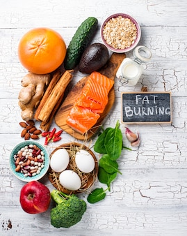 Fat burning products for weight losing