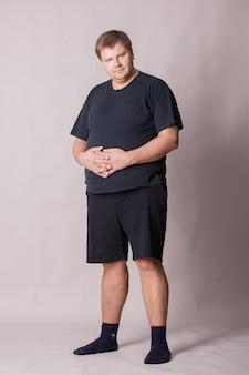 Толстяк. последствия неправильного питания.