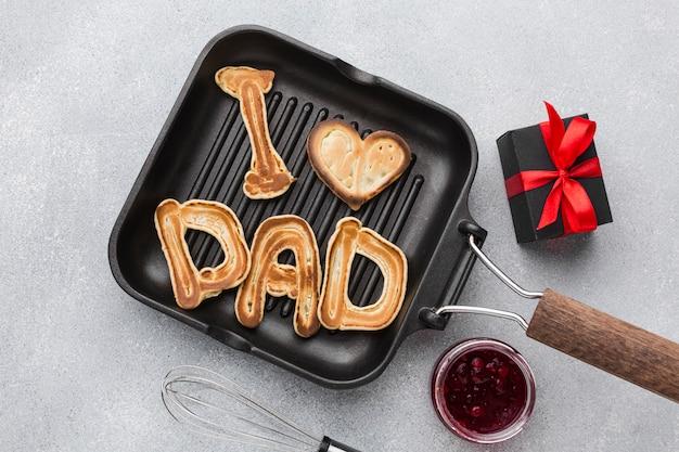 Подарочные блины на день отца