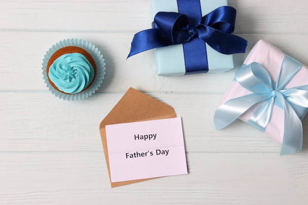 Fathers day background on light background closeup