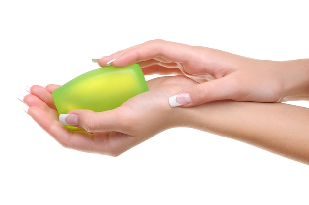 Feamle hand soap
