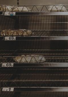 Страх распространения коронавируса приведет к пустым полкам в продуктовом магазине