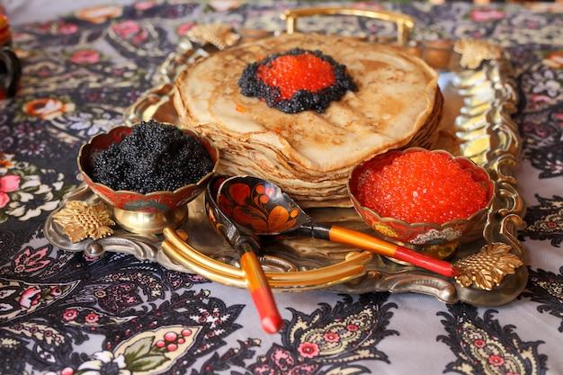 Feast in russian style.