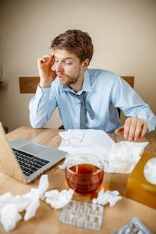 Sensazione di malessere e stanchezza