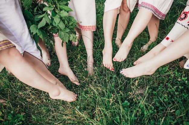 Ноги девочки